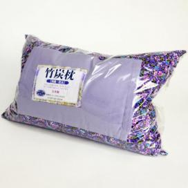 Lavender pillow with Bincho ch...